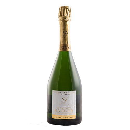 Champagne Sanger Blanc de Blancs Triangle Mineral
